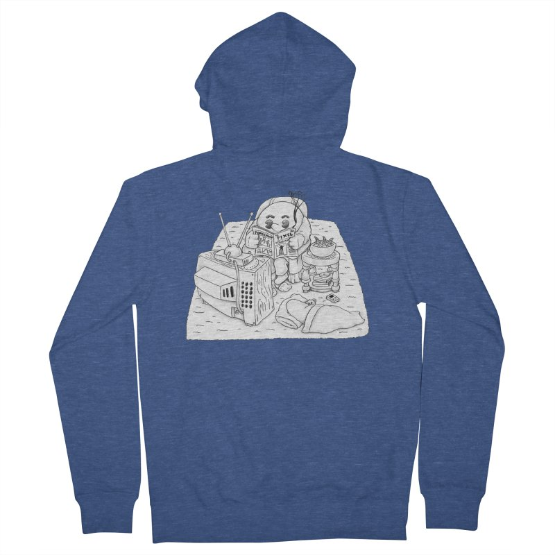 Played Men's French Terry Zip-Up Hoody by Thinkoffbeat / The COUP Shirt Shop