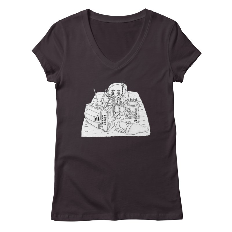 Played Women's Regular V-Neck by Thinkoffbeat / The COUP Shirt Shop