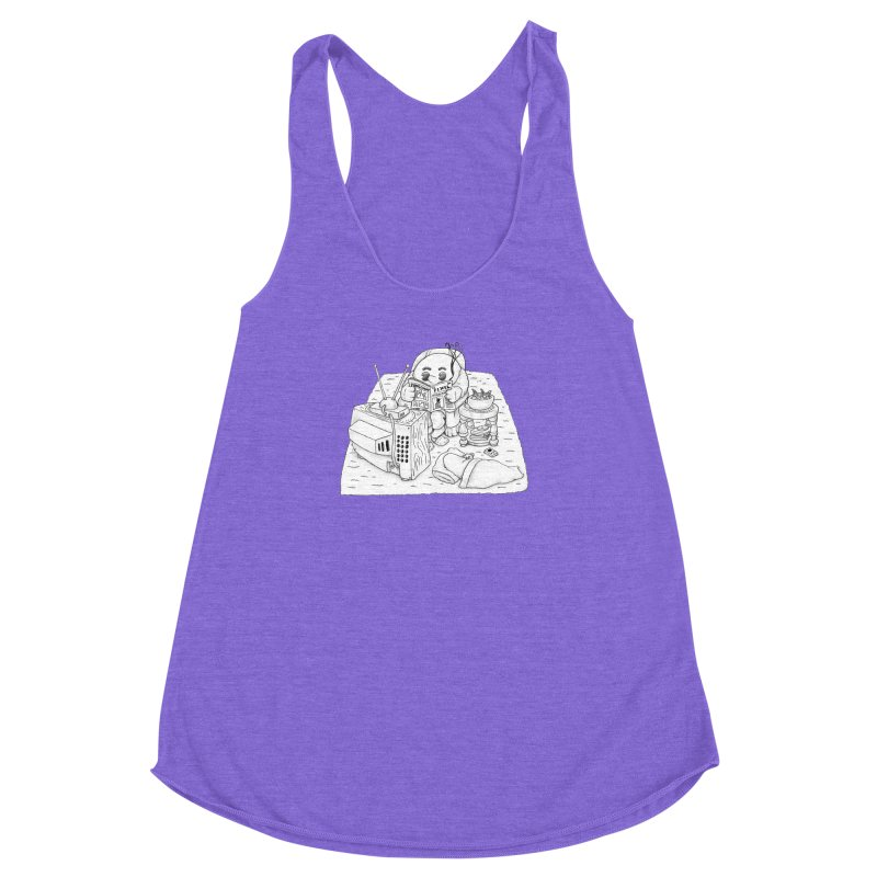Played Women's Racerback Triblend Tank by Thinkoffbeat / The COUP Shirt Shop