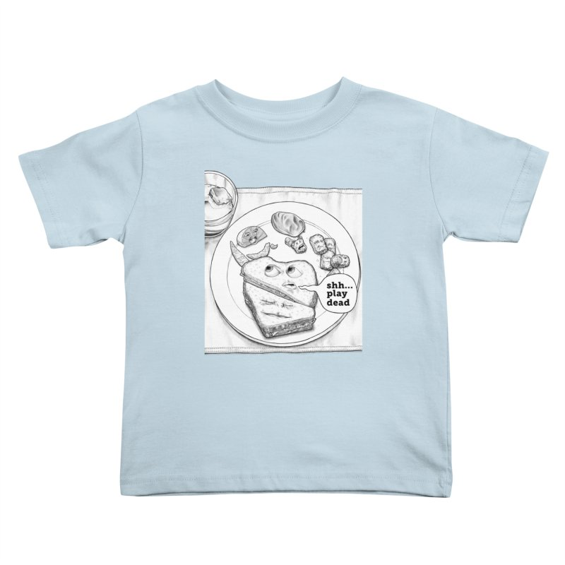 Play Dead Kids Toddler T-Shirt by Thinkoffbeat / The COUP Shirt Shop