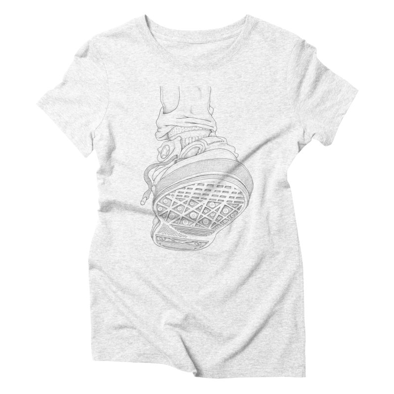 Life of an Ant Women's Triblend T-shirt by Thinkoffbeat / The COUP Shirt Shop