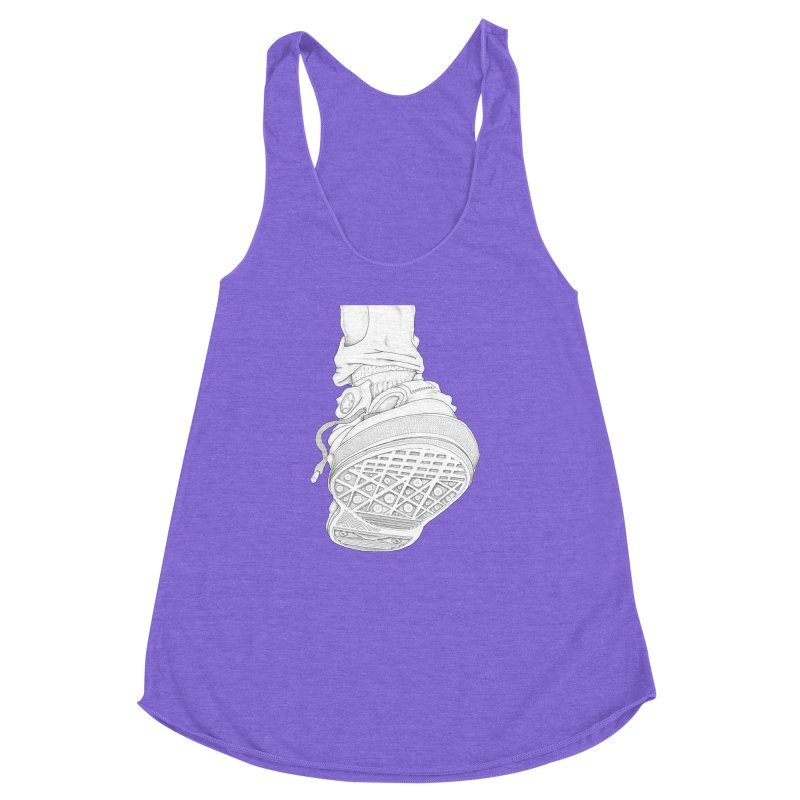 Life of an Ant Women's Racerback Triblend Tank by Thinkoffbeat / The COUP Shirt Shop