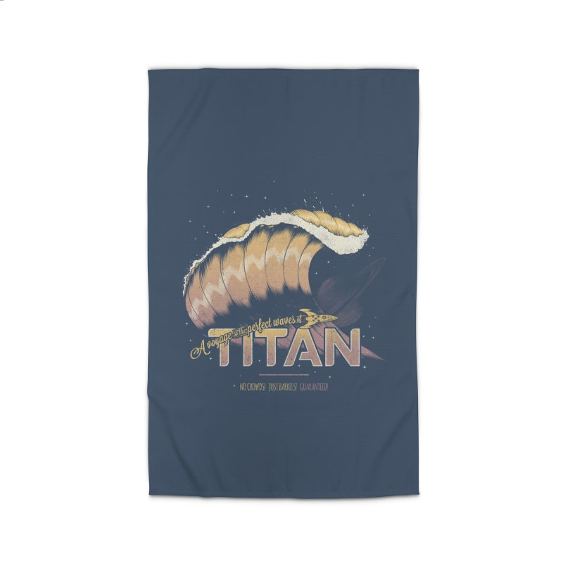 Surfing Titan Home Rug by thirteen's Artist Shop