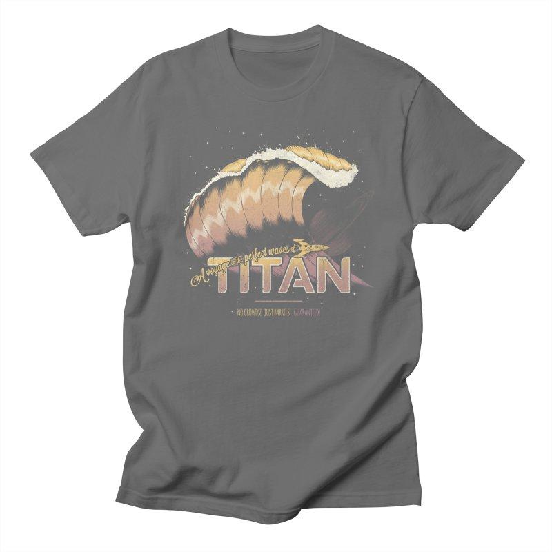 Surfing Titan Men's T-Shirt by Bálooie's Artist Shop