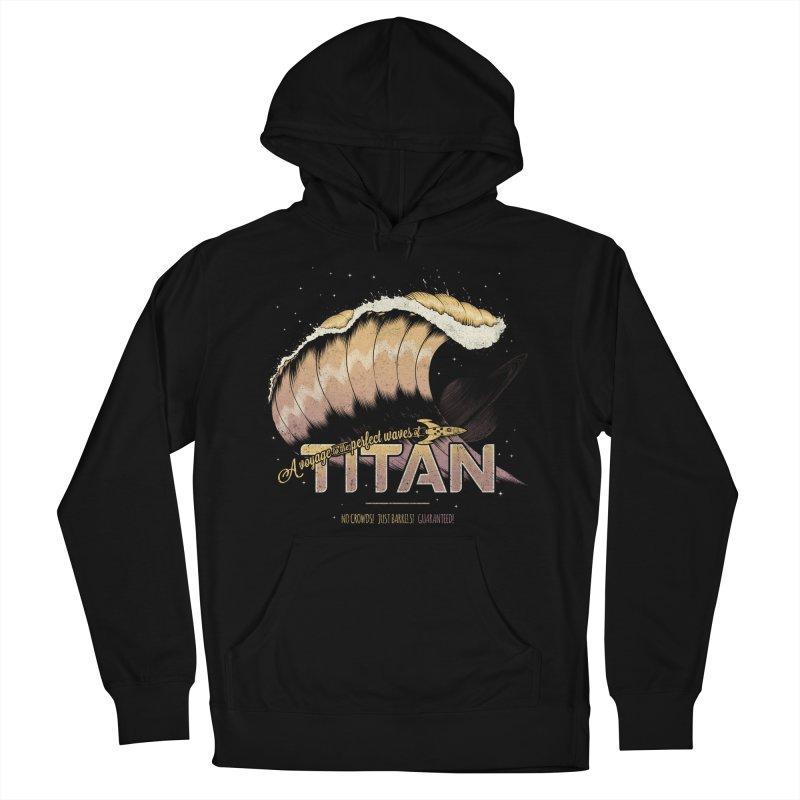 Surfing Titan Women's Pullover Hoody by thirteen's Artist Shop