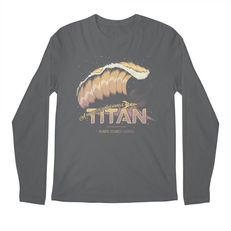 Surfing Titan Men's Regular Longsleeve T-Shirt by Bálooie's Artist Shop