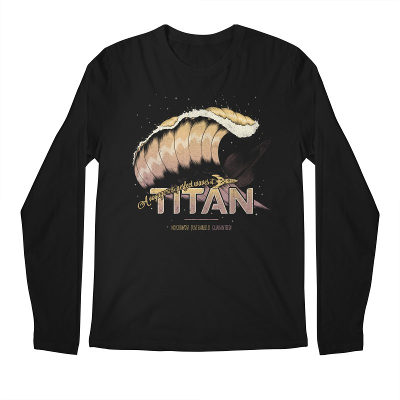 Surfing Titan Men's Regular Longsleeve T-Shirt by Bálooie's Artist Shop
