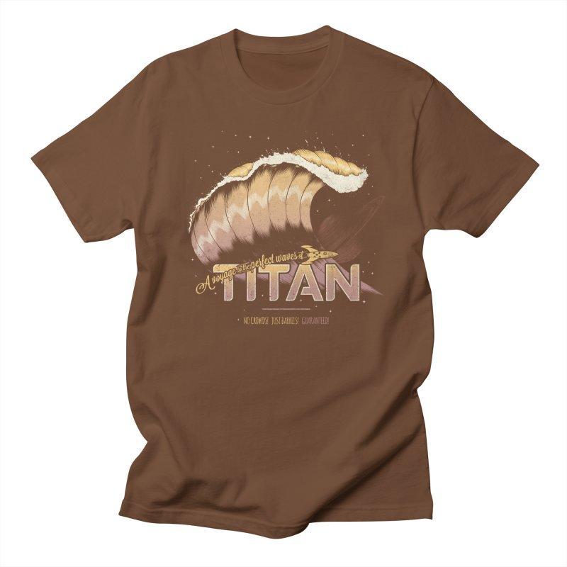 Surfing Titan Men's T-shirt by thirteen's Artist Shop