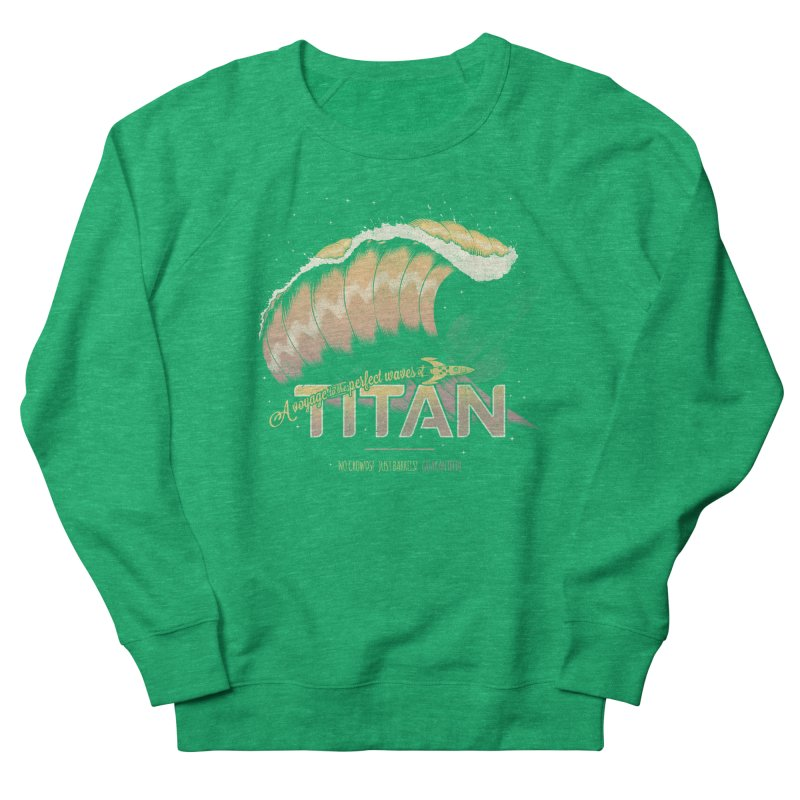 Surfing Titan Women's Sweatshirt by thirteen's Artist Shop