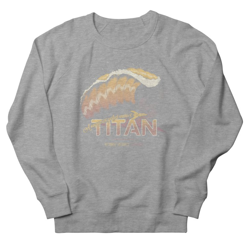 Surfing Titan Women's French Terry Sweatshirt by Bálooie's Artist Shop
