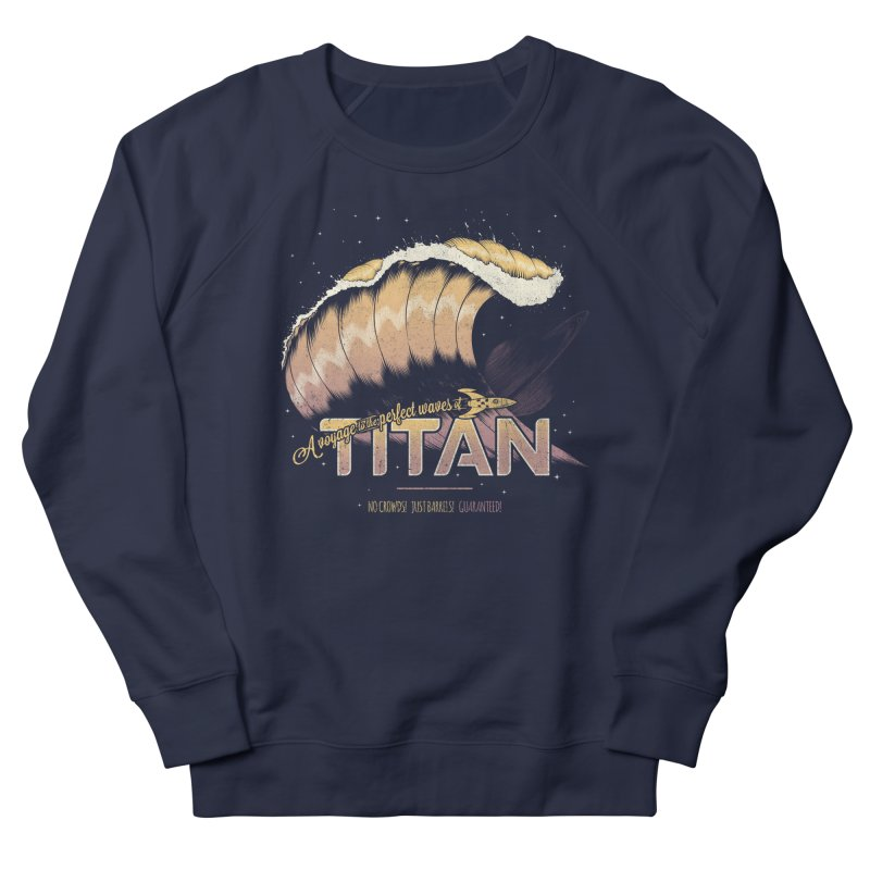 Surfing Titan Women's Sweatshirt by thirteen's Artist Shop