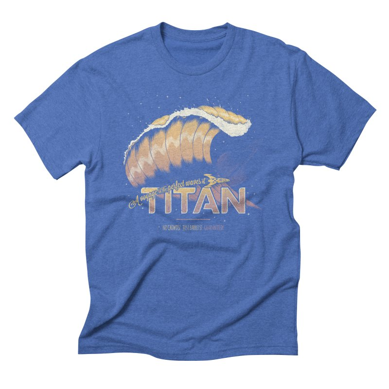 Surfing Titan Men's Triblend T-Shirt by Bálooie's Artist Shop