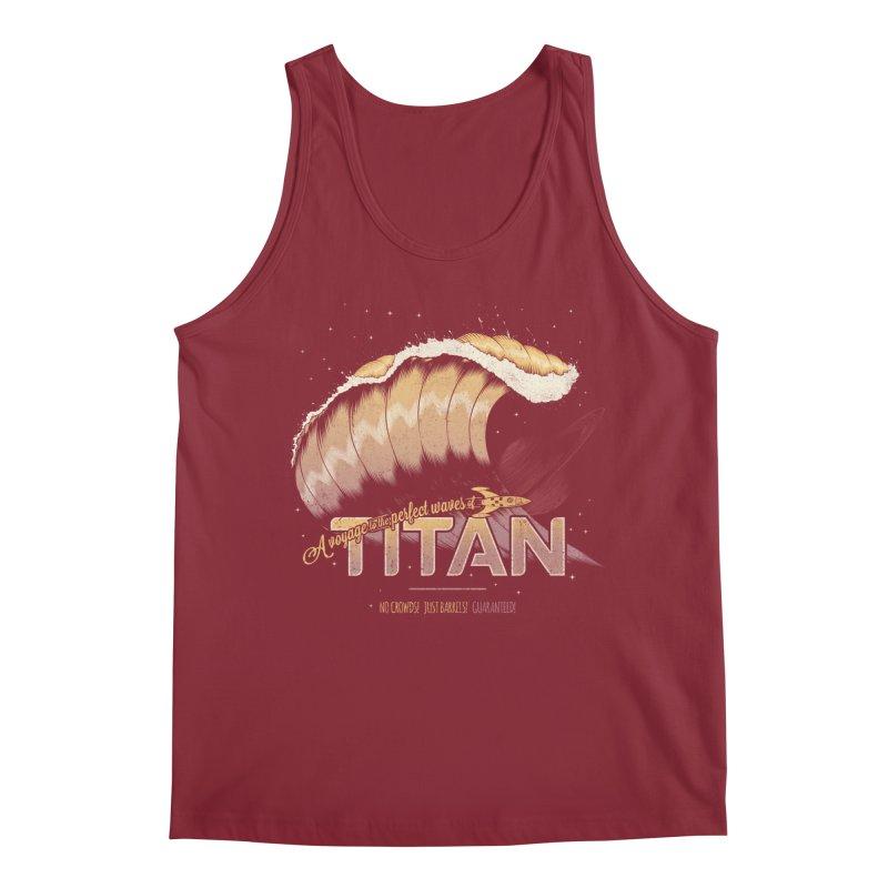 Surfing Titan Men's Regular Tank by Bálooie's Artist Shop