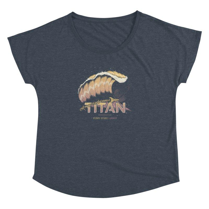 Surfing Titan Women's Dolman by thirteen's Artist Shop