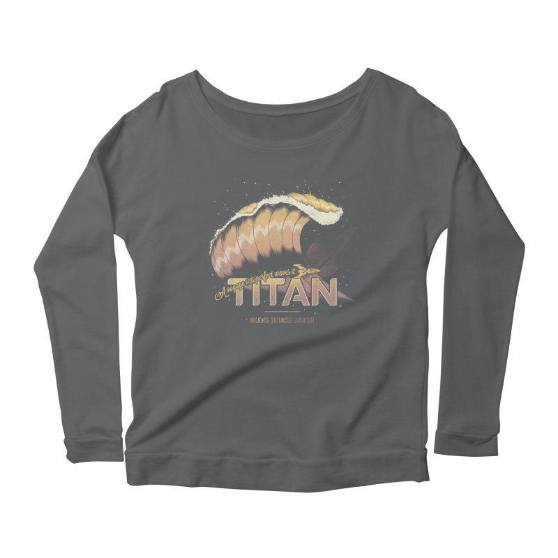 Surfing Titan Women's Longsleeve T-Shirt by Bálooie's Artist Shop