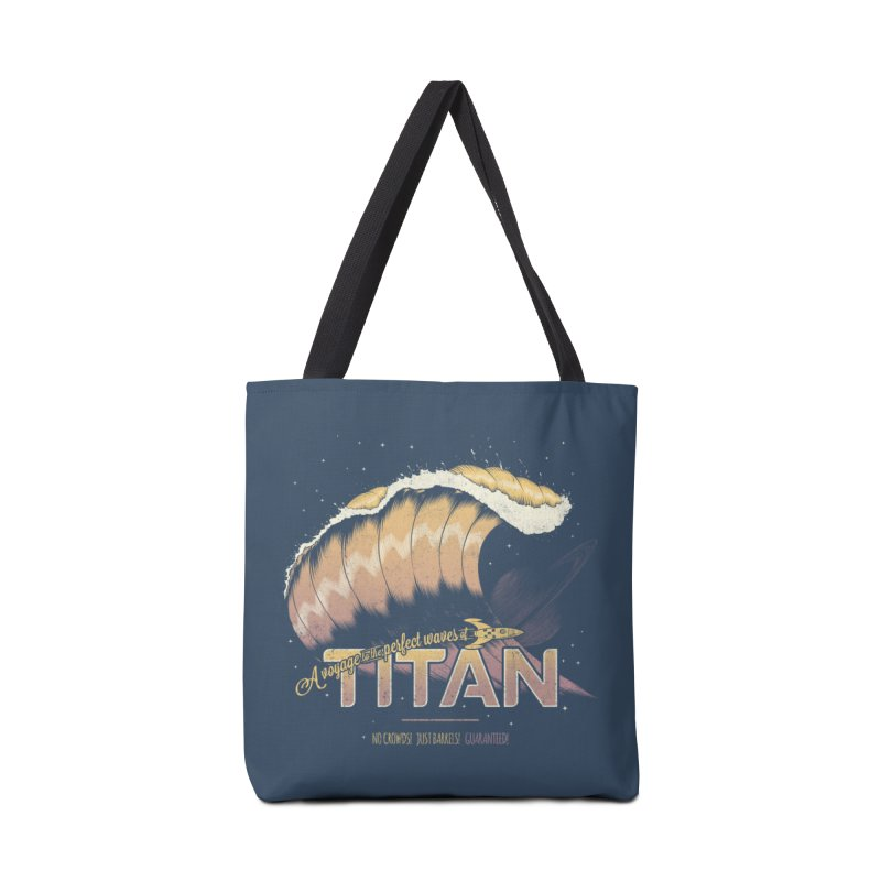 Surfing Titan Accessories Bag by Bálooie's Artist Shop