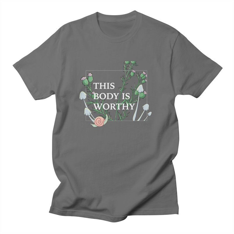 This Body is Worthy –– Haley Brown Men's T-Shirt by thisbodyisworthy's Artist Shop