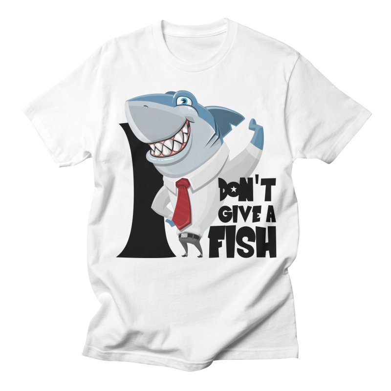I don't give a fish Men's T-Shirt by Thismate's Artist Shop
