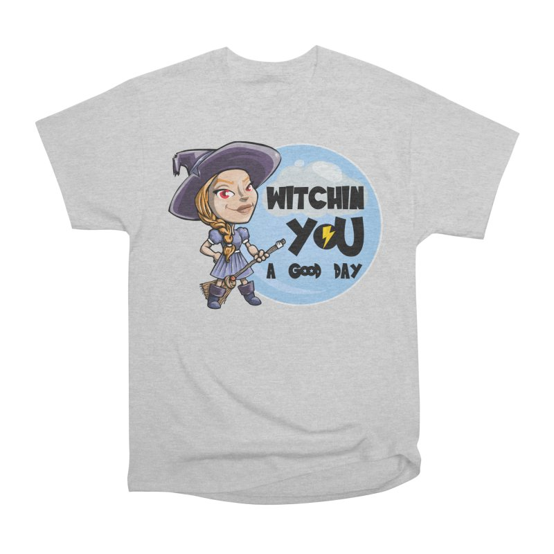 Witchin you a good day Men's Classic T-Shirt by Thismate's Artist Shop