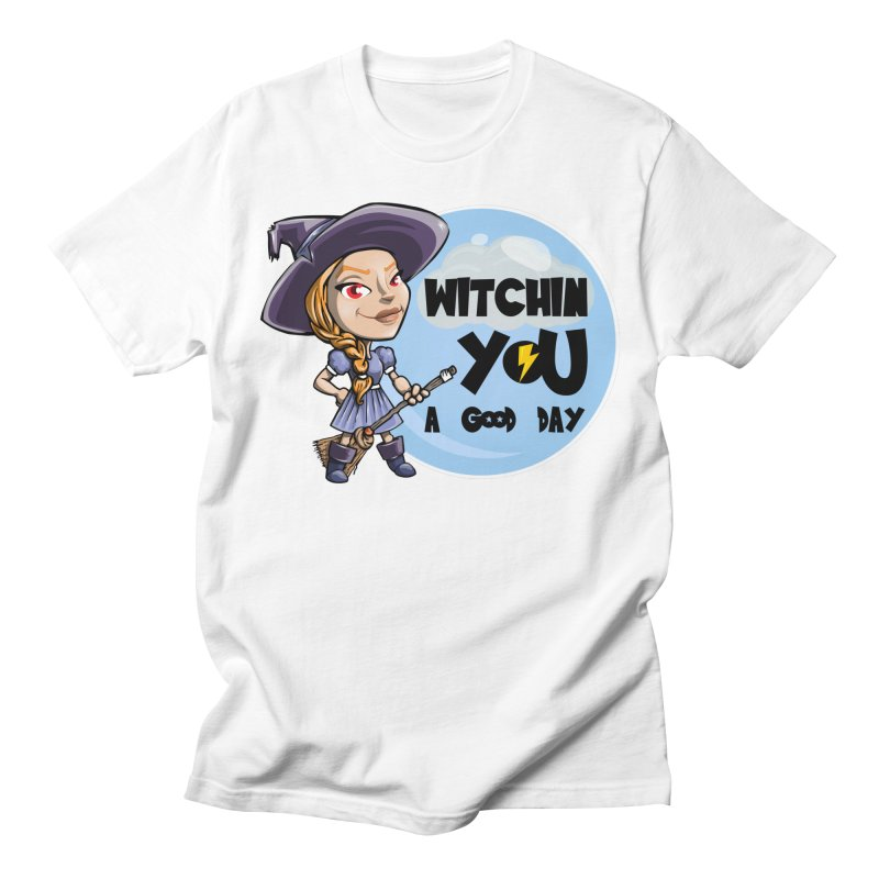 Witchin you a good day Men's T-Shirt by Thismate's Artist Shop