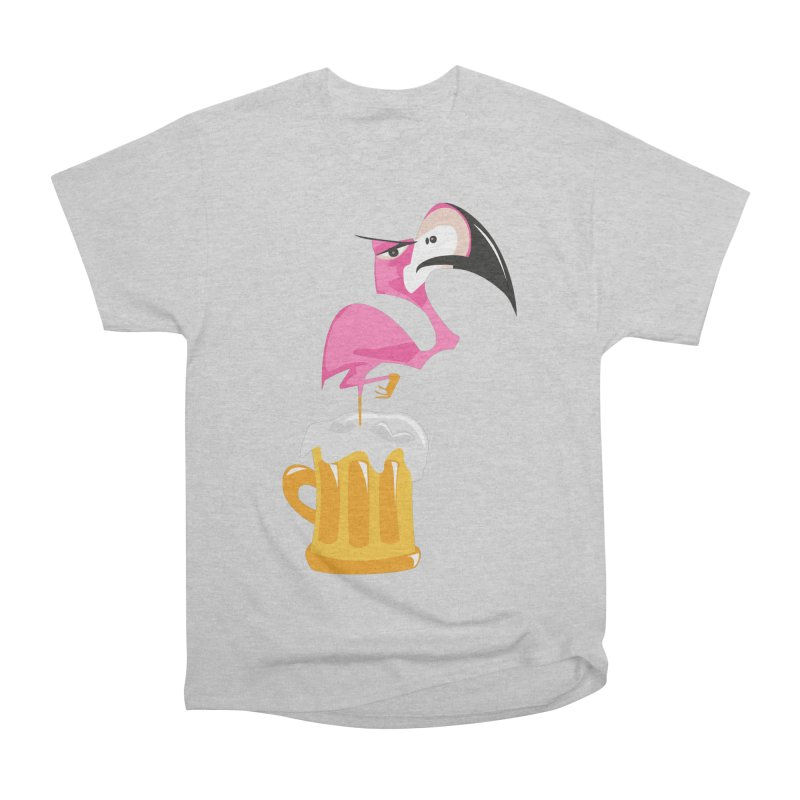 The flamingo beer Men's Classic T-Shirt by Thismate's Artist Shop