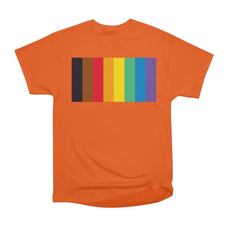 QPOC Stripe Women's Heavyweight Unisex T-Shirt by ThisQPOCshop