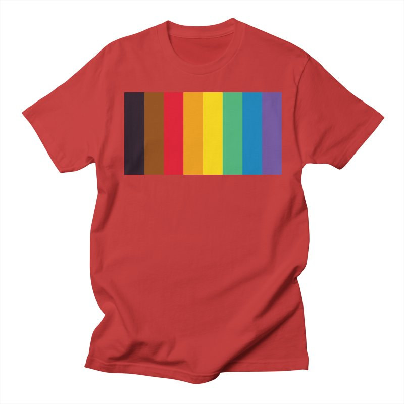 QPOC Stripe Men's Regular T-Shirt by ThisQPOCshop