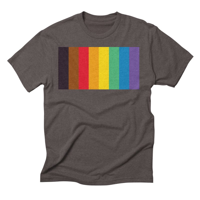 QPOC Stripe Men's Triblend T-Shirt by ThisQPOCshop