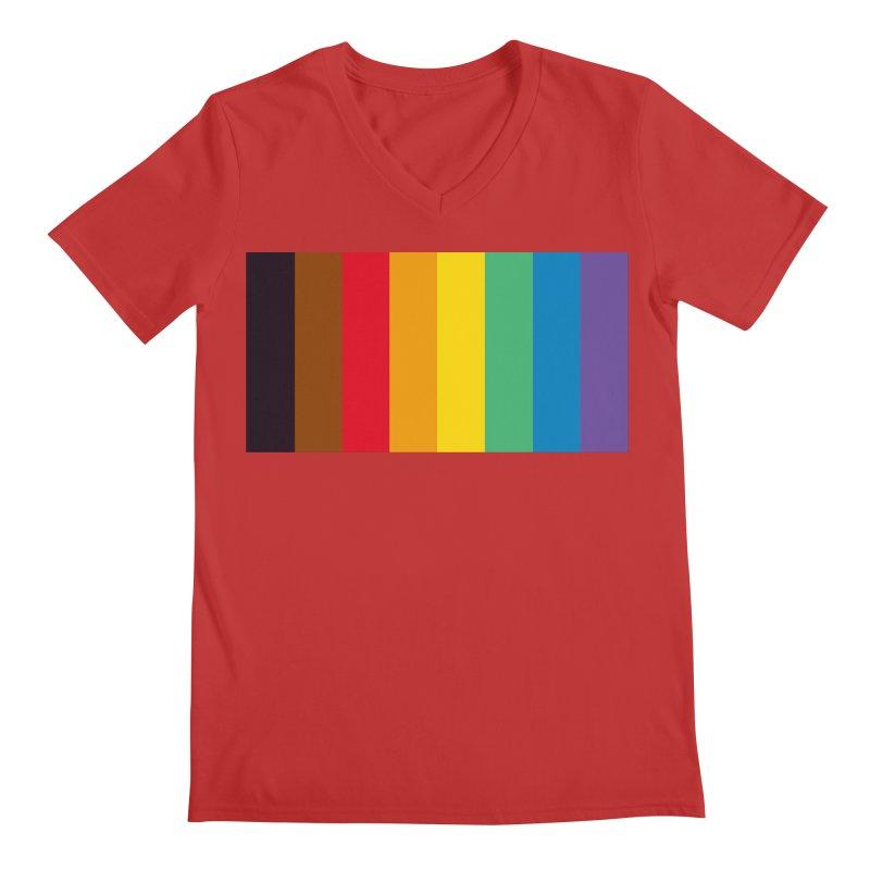 QPOC Stripe Men's V-Neck by ThisQPOCshop