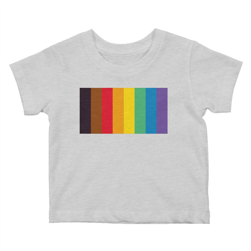 QPOC Stripe Kids Baby T-Shirt by ThisQPOCshop