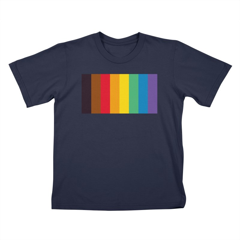 QPOC Stripe Kids T-Shirt by ThisQPOCshop