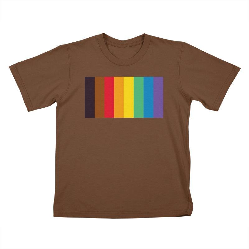 QPOC Stripe Kids T-Shirt by ThisQPOCshop