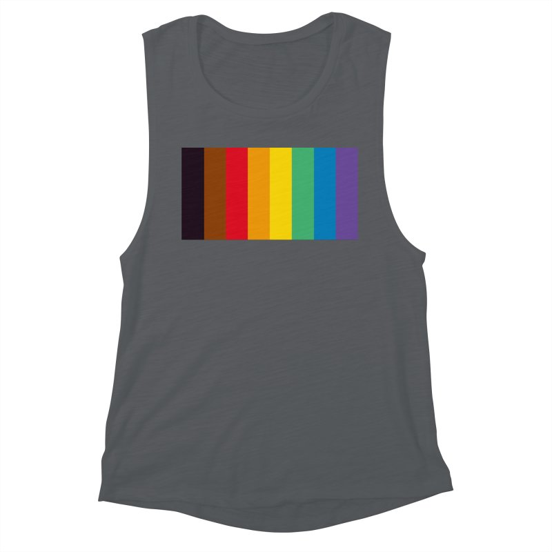 QPOC Stripe Women's Muscle Tank by ThisQPOCshop