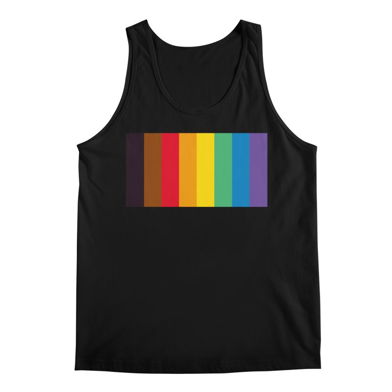QPOC Stripe Men's Regular Tank by ThisQPOCshop