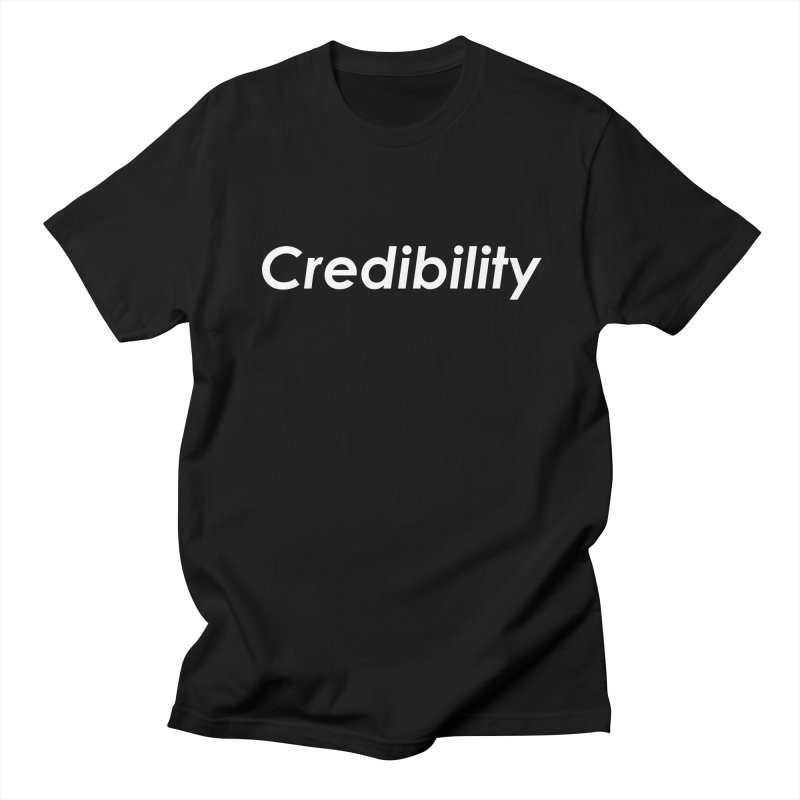 Credibility Men's Regular T-Shirt by ThisQPOCshop