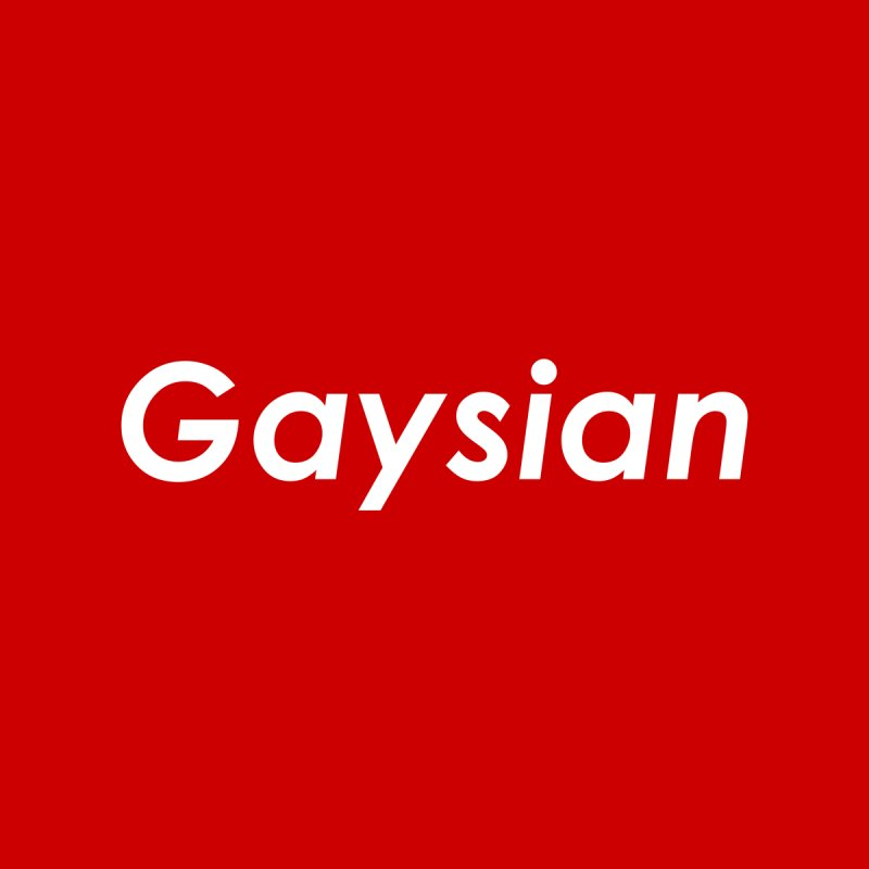Gaysian Men's T-Shirt by ThisQPOCshop