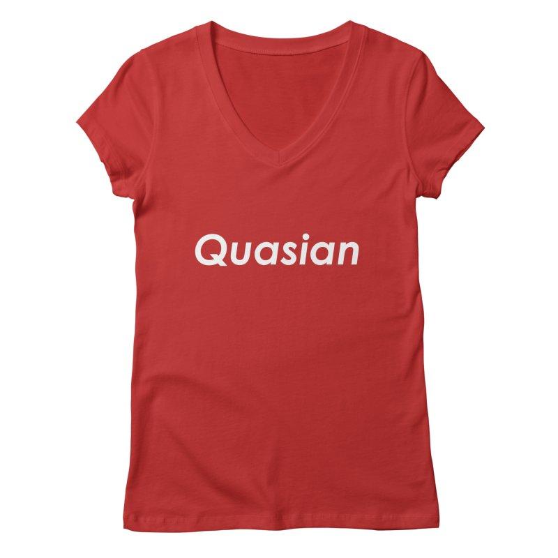 Quasian Women's Regular V-Neck by ThisQPOCshop