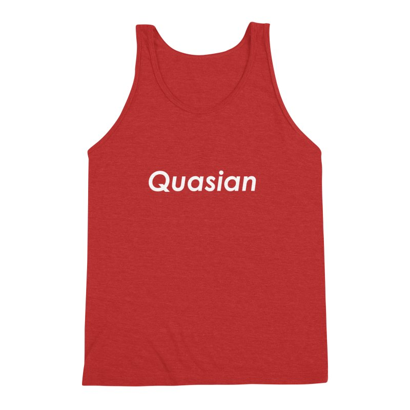 Quasian Men's Triblend Tank by ThisQPOCshop