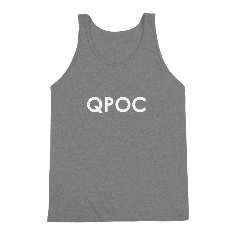 QPOC Bold Men's Triblend Tank by ThisQPOCshop