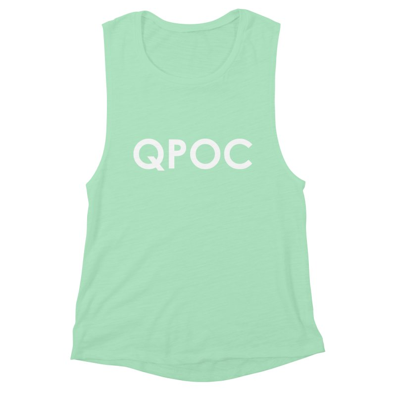 QPOC Bold Women's Muscle Tank by ThisQPOCshop