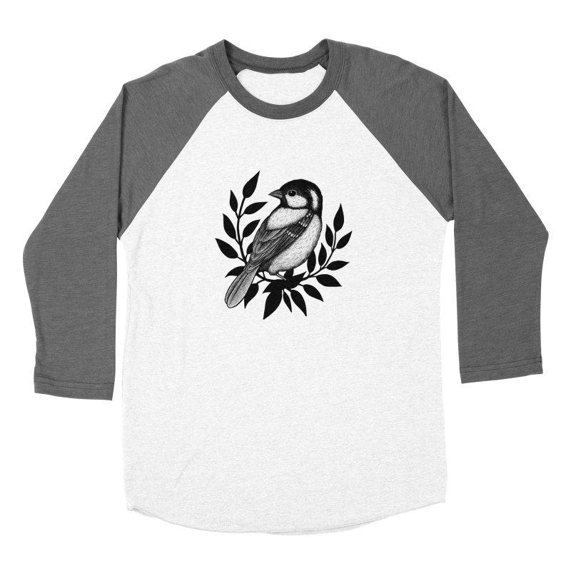 Coal Tit Women's Longsleeve T-Shirt by Thistle Moon Artist Shop