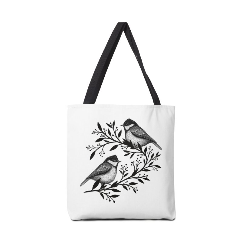 Little Birds Accessories Tote Bag Bag by Thistle Moon Artist Shop