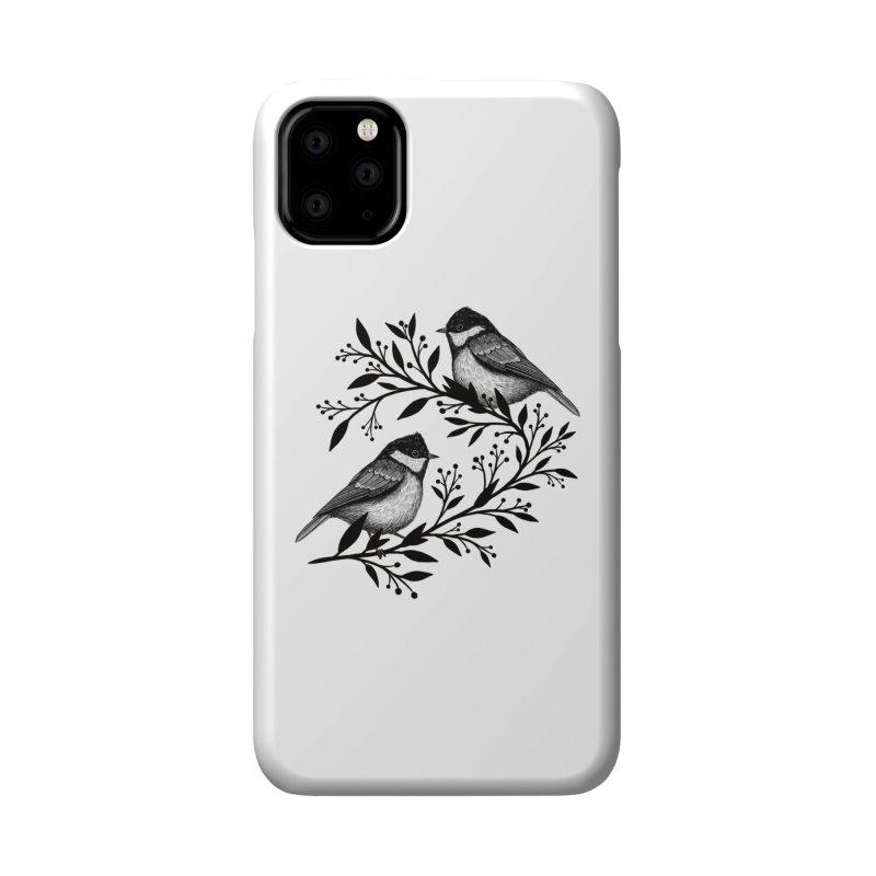 Little Birds Accessories Phone Case by Thistle Moon Artist Shop