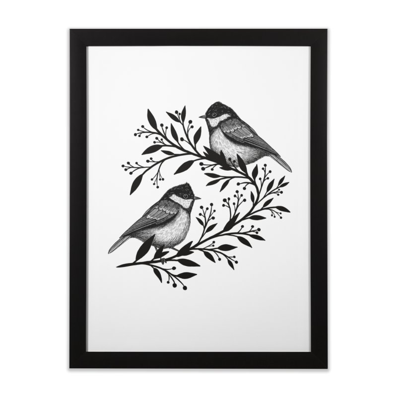 Little Birds Home Framed Fine Art Print by Thistle Moon Artist Shop