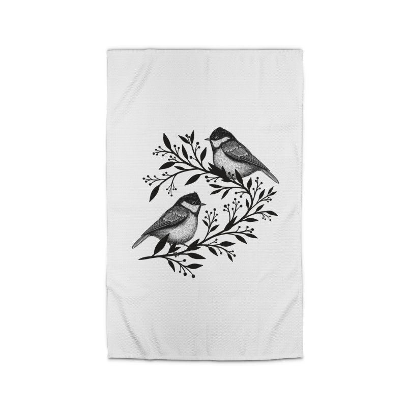 Little Birds Home Rug by Thistle Moon Artist Shop