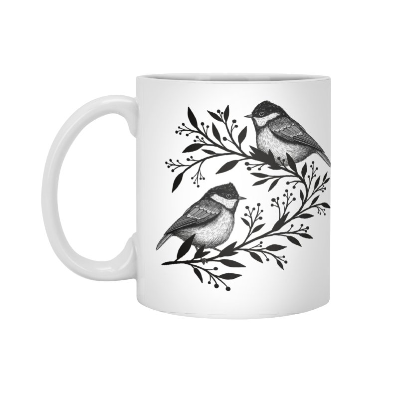 Little Birds Accessories Standard Mug by Thistle Moon Artist Shop