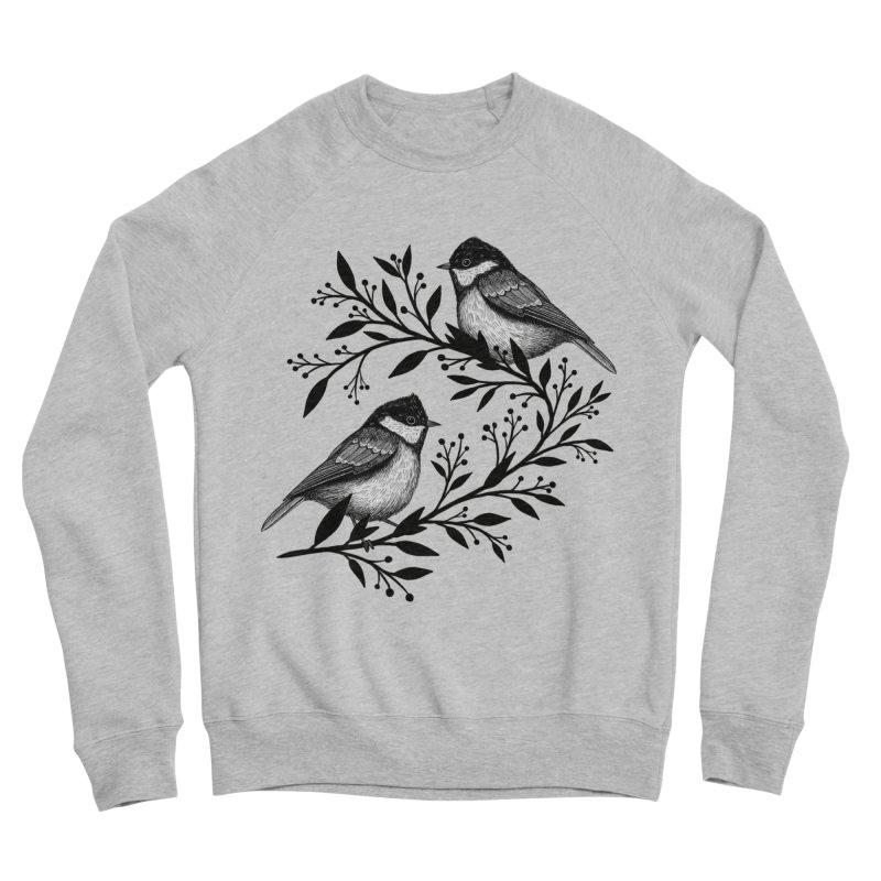 Little Birds Women's Sponge Fleece Sweatshirt by Thistle Moon Artist Shop
