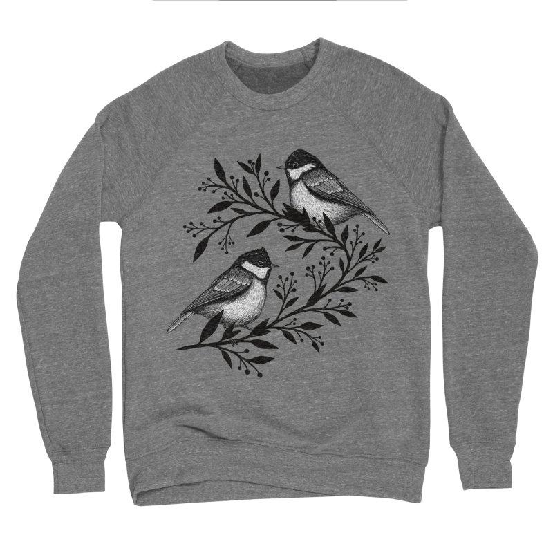 Little Birds Men's Sponge Fleece Sweatshirt by Thistle Moon Artist Shop