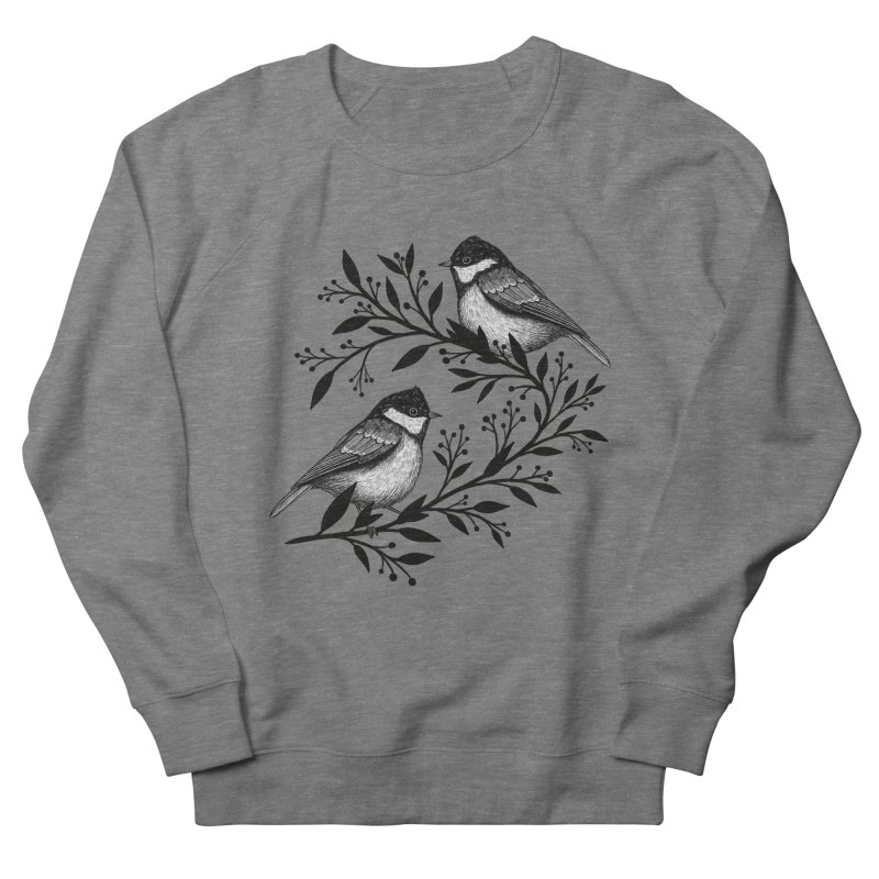 Little Birds Women's French Terry Sweatshirt by Thistle Moon Artist Shop