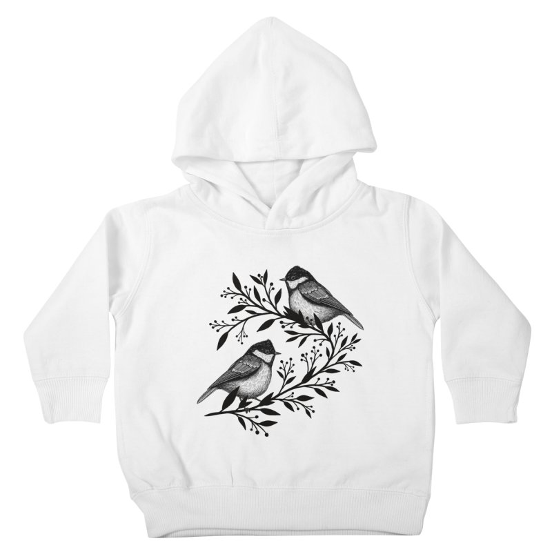 Little Birds Kids Toddler Pullover Hoody by Thistle Moon Artist Shop